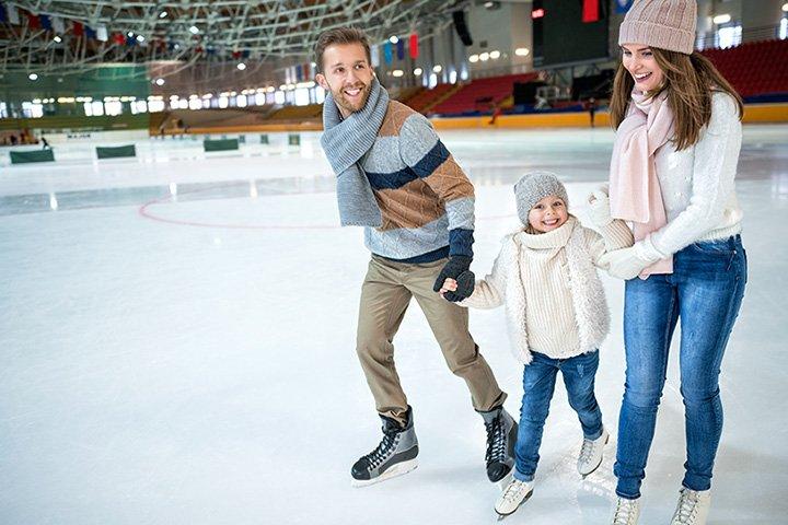 family-skating